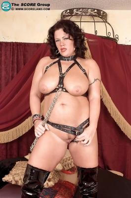 Fatty MILF babe with big tits Slone Ryder wearing fetish panties[15P]